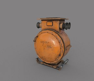 Industrial Electrical Equipment 3D