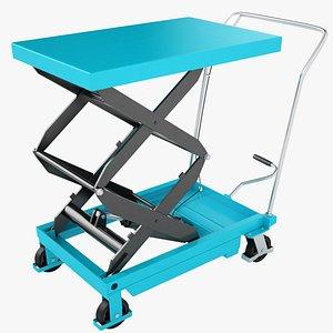 Mobile Hydraulic Trolley 05 3D model