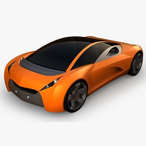 3D supercar sportcar