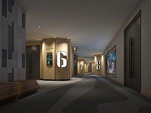 Cinema Aisle model