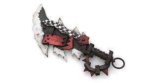 Orc Battle Axe 3 3D model