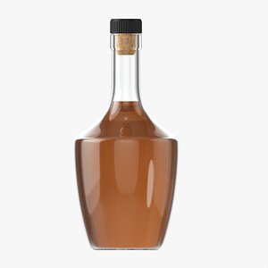 3D Whiskey bottle 13