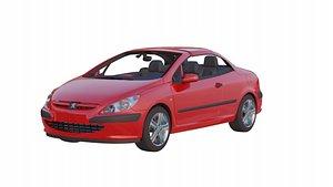 3D model Peugeot 307 CC