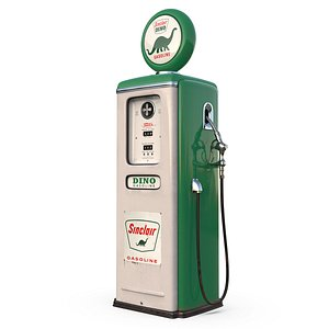 3D gasoline pump