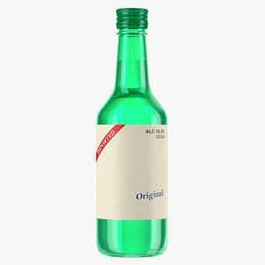 alcoholic beverage drink 3D model