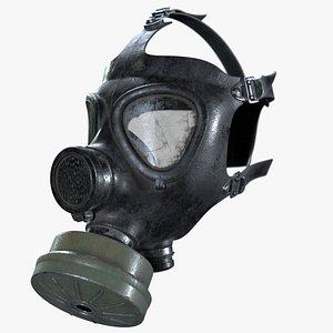 M15 Gas Mask 3D model