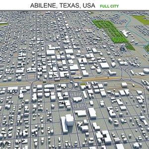 Abilene Texas USA 3D model