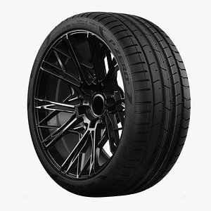 Pirelli PZERO PZ4 Standard Profile Real World Details 3D model