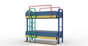 bunk bed model