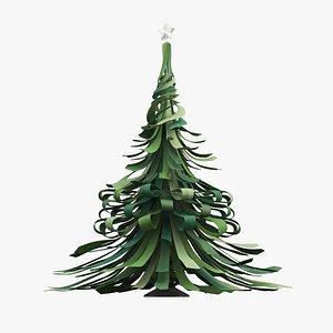 christmas tree tie model