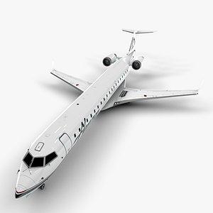 3D horizon air bombardier model