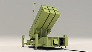 3D nasams missile