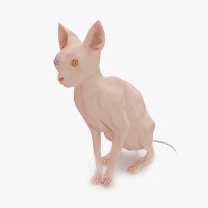 3D cat sphinx