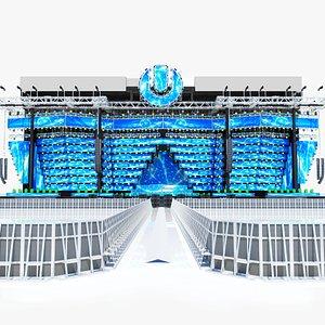 3D model Ultra Music Festival 2019 Main Stage