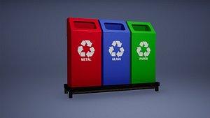 Recyclebin 3D model