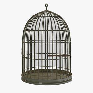 3D birdcage cage model