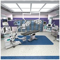 Surgical-Operation Room 3D model