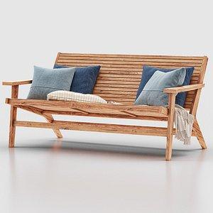 outdoor sofa 3D model