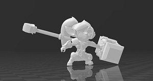 3D model Poppy