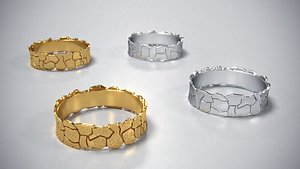 3D model ring jewelry fashion