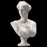 Artemis Bust Ancient Greek Goddess of Hunt