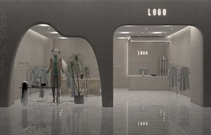 3D Lady Clothing Shop