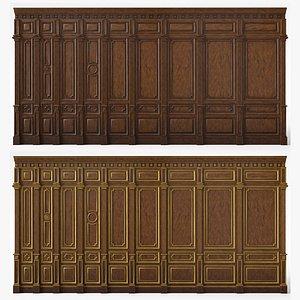 Wooden panels 03 08 model