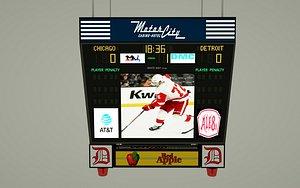 jumbotron scoreboard 3D model