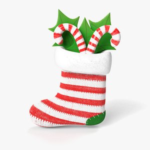 christmas stocking model