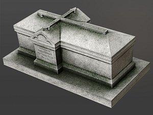 chest tomb 3 3D model