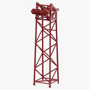 3D crane l head section