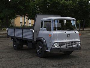 3D model Bedford TK Truck