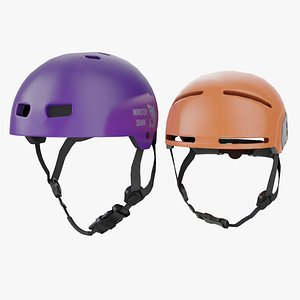 helmet skate adult 3D model