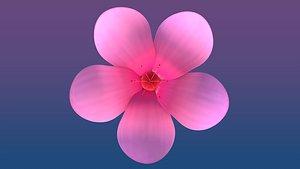 3D cherry blossom sakura