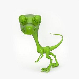 3D Dinosaur Toy model