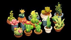 3D decoration flora nature
