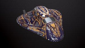 Sci Fi Space Ship 3D