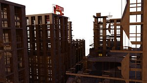 Apocalyptic City 3D