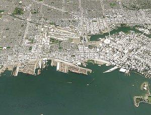cityscape vancouver canada city 3D model