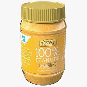 Crazy Richard Crunchy Peanut Butter 3D model