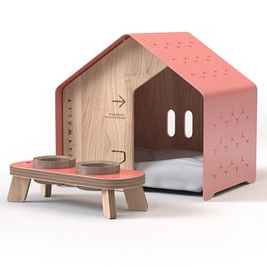house pet 3D model