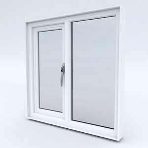 window frame upvc 3D