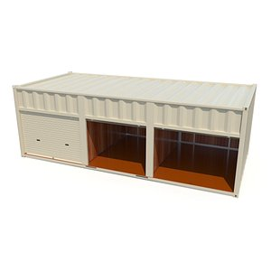 3D container storage model