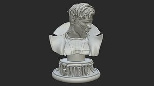 Gabit Bust - Fan Art 3D print model 3D model