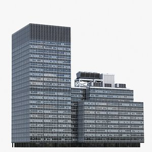JPMorgan Chase V3 Lowpoly 3D
