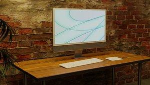 iMac New 2021 Redesign 3D model