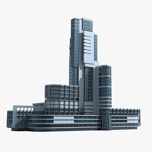 Modern Building 133 3D model
