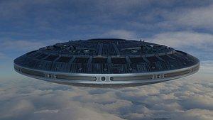 UFO MotherShip 3D model