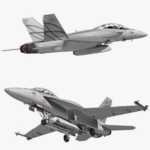 3D model Advanced Super Hornet