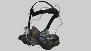 sci fi mask 3D
